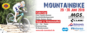 Mountainbike CrossCountry XCO 7. Lauf Cube-Cup 2019 3. MGS Mountianbike Team- und Firmenstaffel