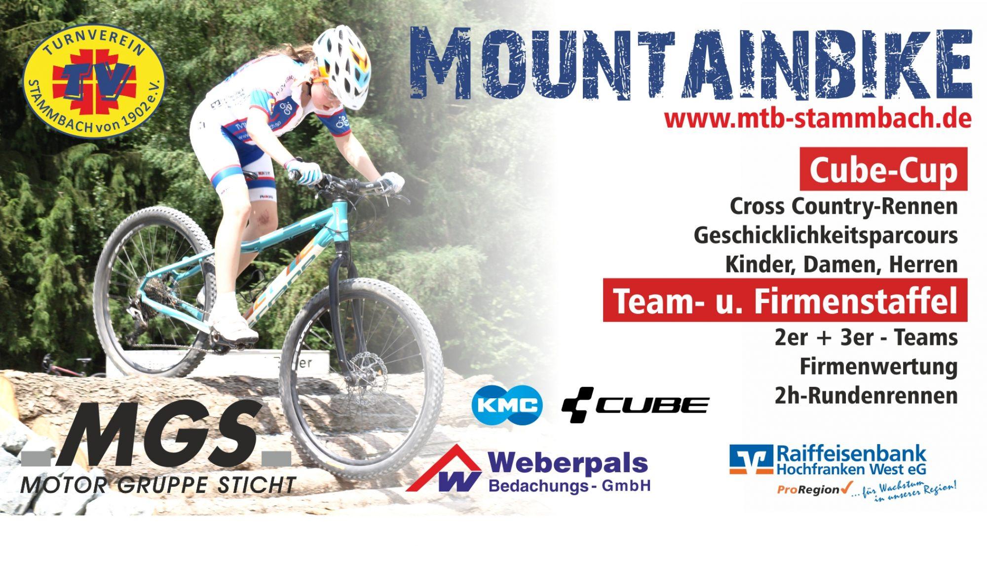 Mountainbike im TV Stammbach